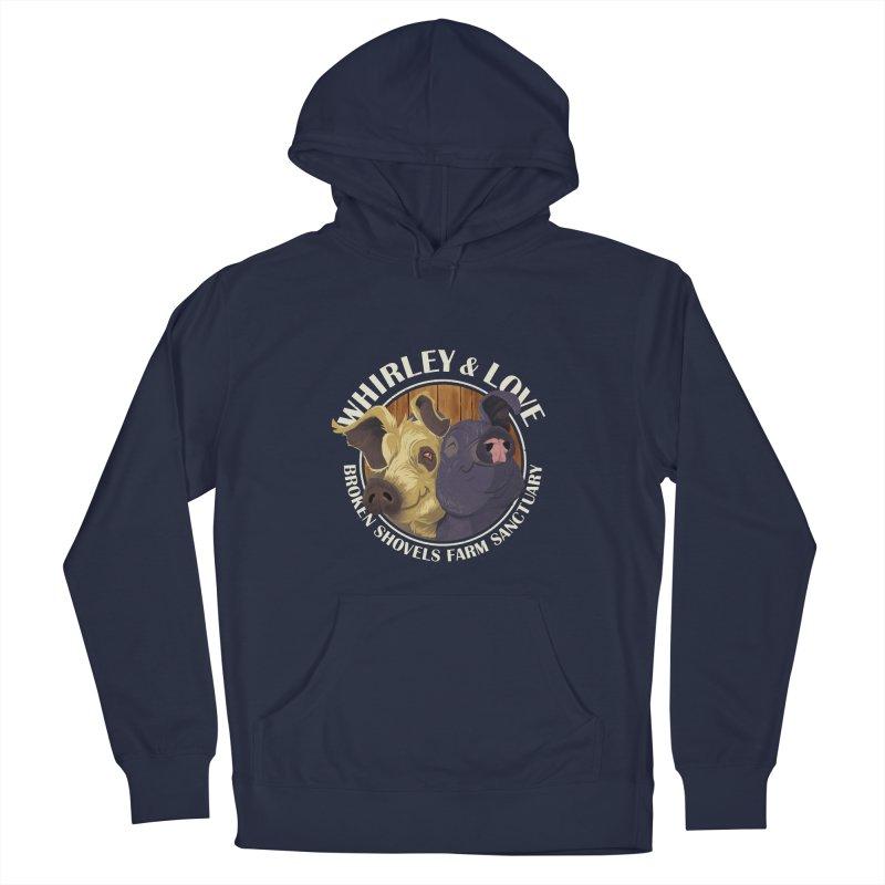 Love & Whirley Men's Pullover Hoody by Broken Shovels Farm Sanctuary Shop