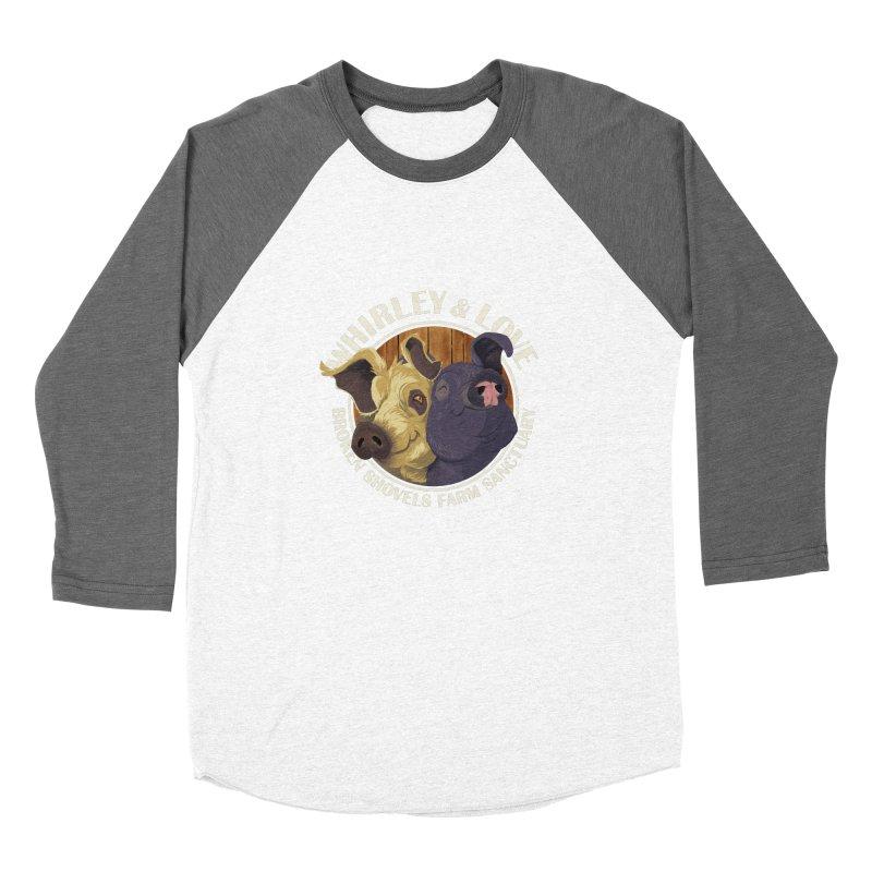Love & Whirley Women's Longsleeve T-Shirt by Broken Shovels Farm Sanctuary Shop