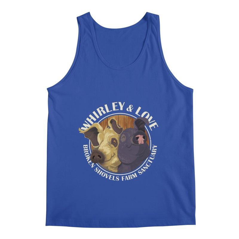 Love & Whirley Men's Tank by Broken Shovels Farm Sanctuary Shop