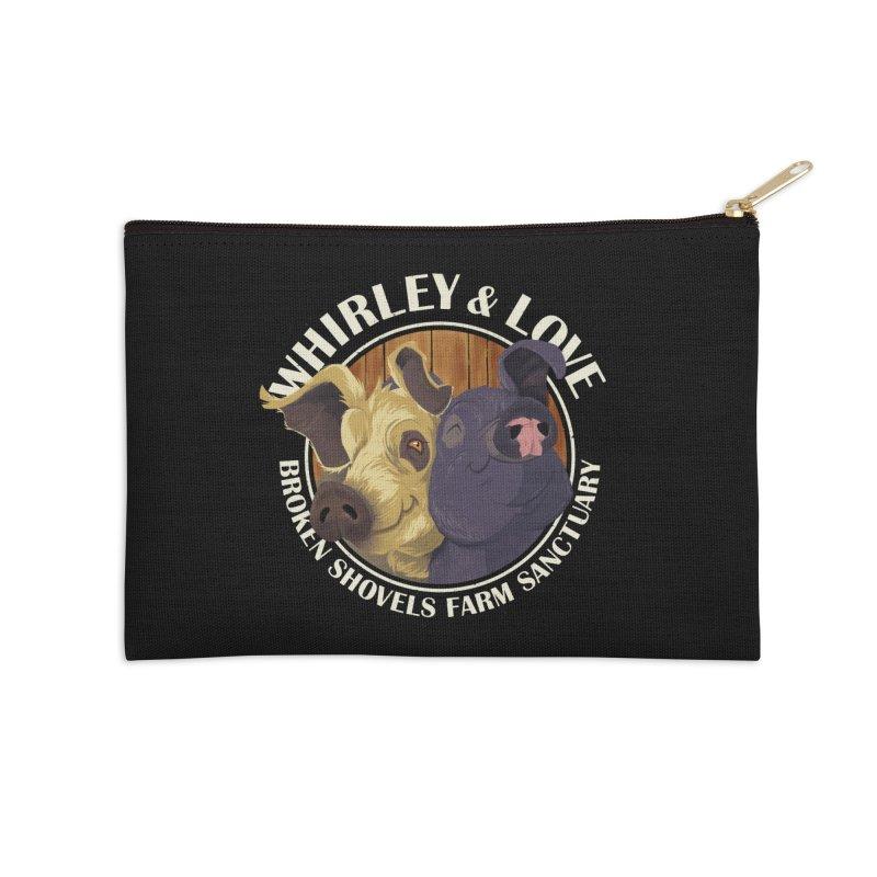 Love & Whirley Accessories Zip Pouch by Broken Shovels Farm Sanctuary Shop