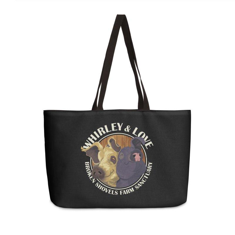 Love & Whirley Accessories Bag by Broken Shovels Farm Sanctuary Shop