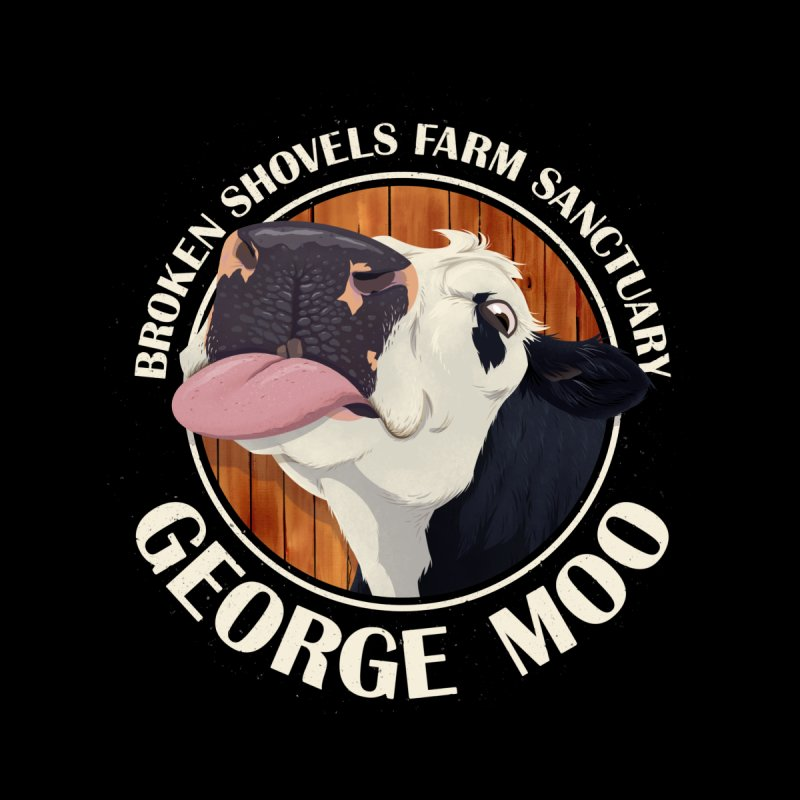 George Moo! Accessories Notebook by Broken Shovels Farm Sanctuary Shop