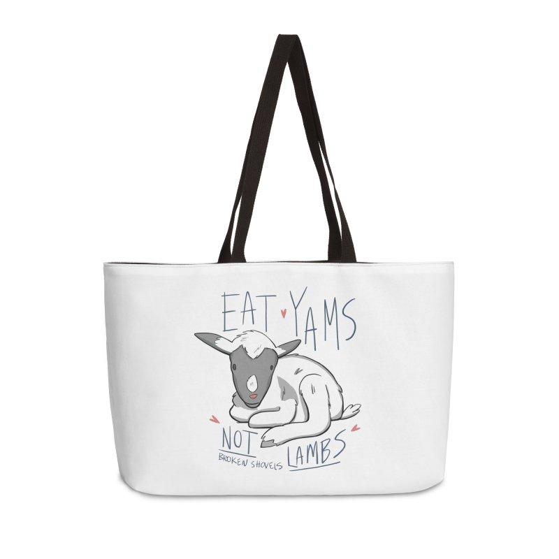Eat Yams, Not Lambs! Accessories Bag by Broken Shovels Farm Sanctuary Shop