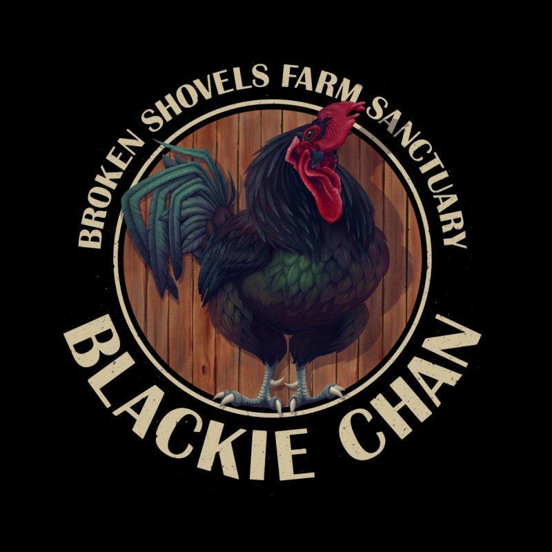 Blackie Chan! Men's Sweatshirt by Broken Shovels Farm Sanctuary Shop