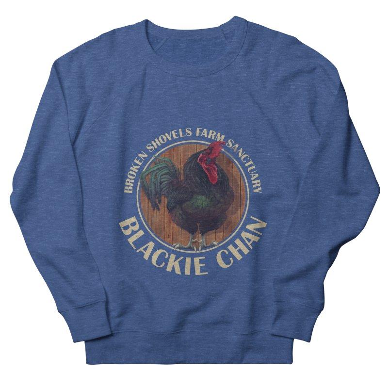 Blackie Chan! Women's Sweatshirt by Broken Shovels Farm Sanctuary Shop