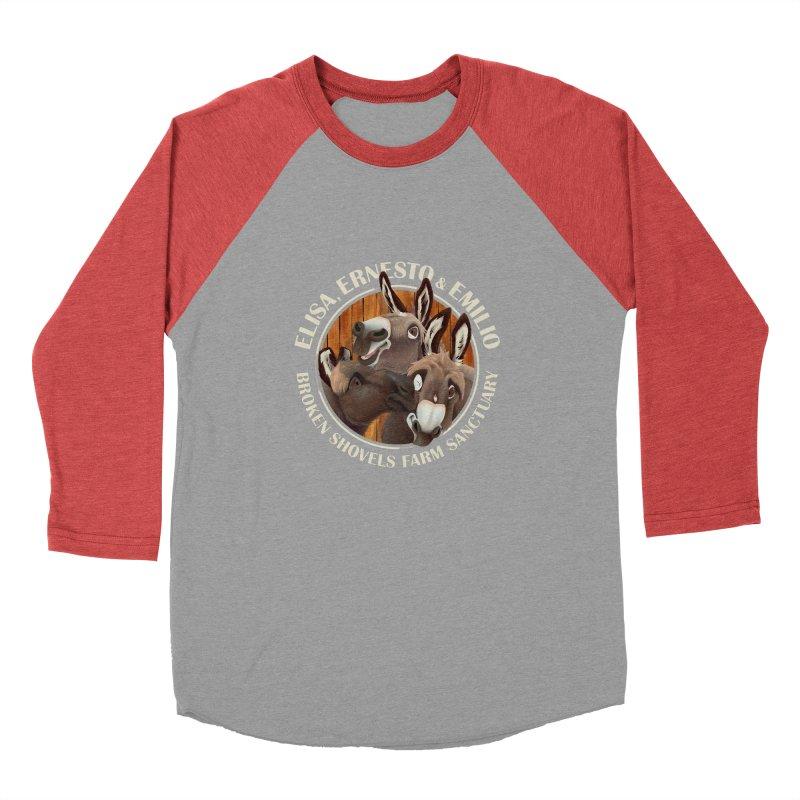 The Mini Donks! Men's Longsleeve T-Shirt by Broken Shovels Farm Sanctuary Shop