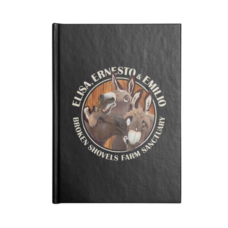 The Mini Donks! Accessories Notebook by Broken Shovels Farm Sanctuary Shop