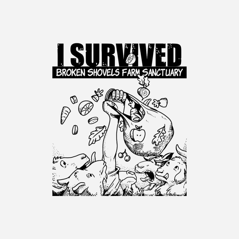 I Survived! Accessories Zip Pouch by Broken Shovels Farm Sanctuary Shop