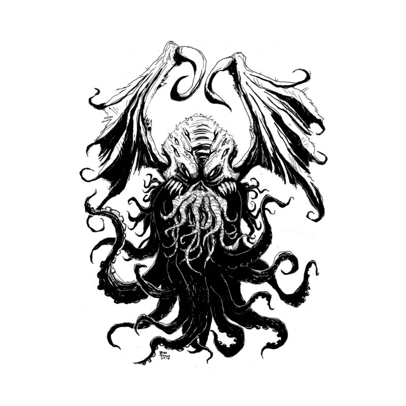 Cthulhu by Bryan Timmins Artist Shop