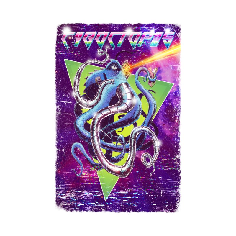 Cyboctopus by Bryan Timmins Artist Shop