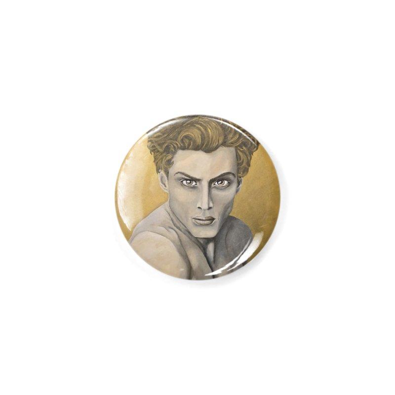 Golden Accessories Button by Bryunholt's Artist Shop