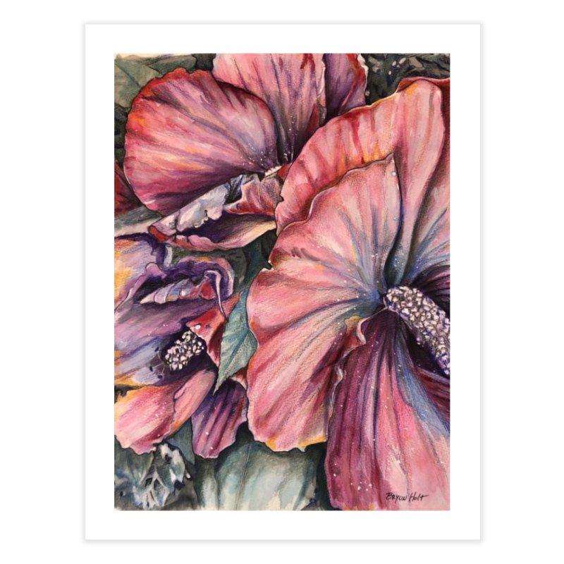 Hibiscus Home Fine Art Print by Bryunholt's Artist Shop