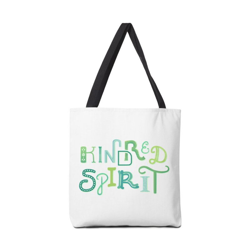 Kindred Spirit (Green) Accessories Tote Bag Bag by BumbleBess