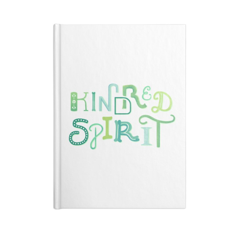 Kindred Spirit (Green) Accessories Lined Journal Notebook by BumbleBess