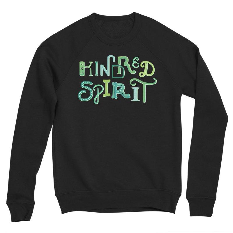 Kindred Spirit (Green) Women's Sponge Fleece Sweatshirt by BumbleBess