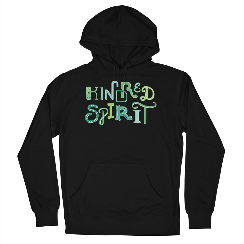Kindred Spirit (Green) Women's French Terry Pullover Hoody by BumbleBess