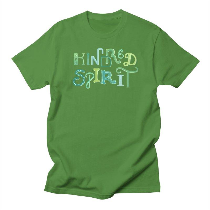 Kindred Spirit (Green) Women's Regular Unisex T-Shirt by BumbleBess