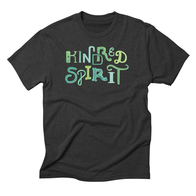 Kindred Spirit (Green) Men's T-Shirt by BumbleBess
