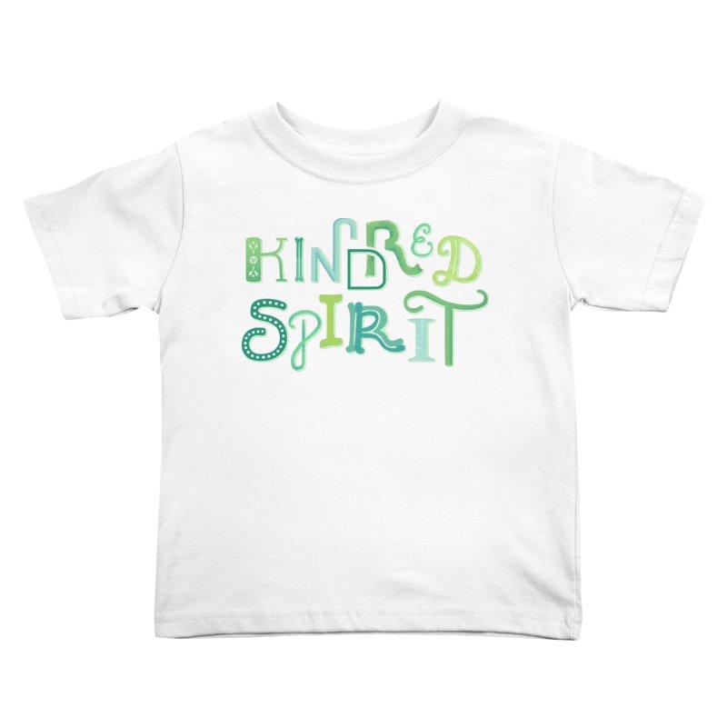 Kindred Spirit (Green) Kids Toddler T-Shirt by BumbleBess