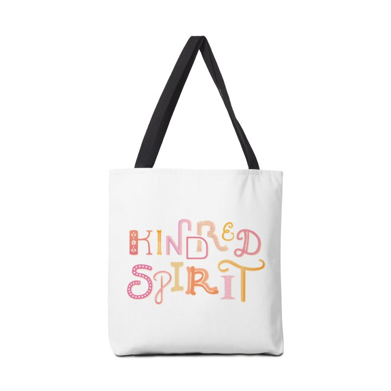 Kindred Spirit (Pink) Accessories Tote Bag Bag by BumbleBess