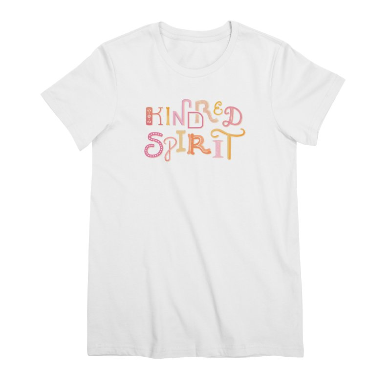 Kindred Spirit (Pink) Women's Premium T-Shirt by BumbleBess