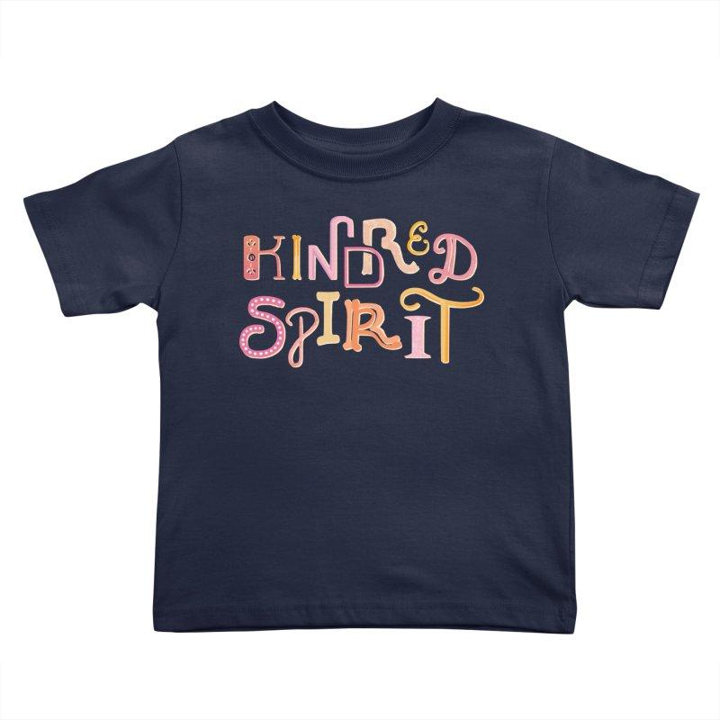 Kindred Spirit (Pink) Kids Toddler T-Shirt by BumbleBess