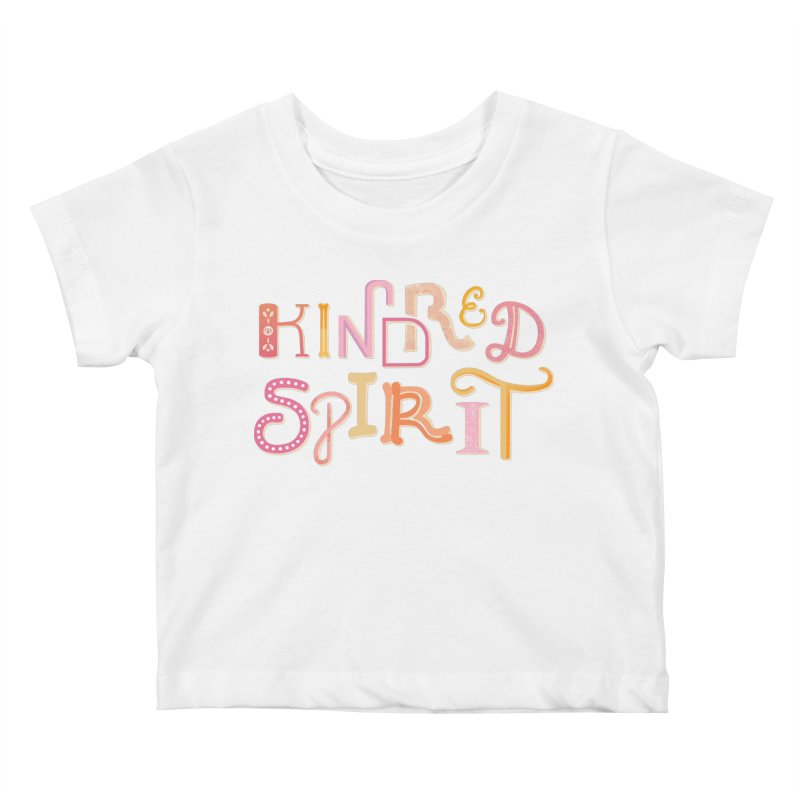 Kindred Spirit (Pink) Kids Baby T-Shirt by BumbleBess