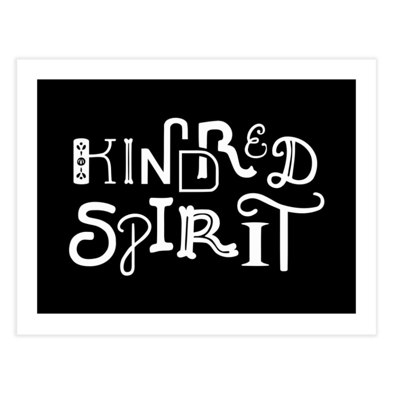 Kindred Spirit Home Fine Art Print by BumbleBess