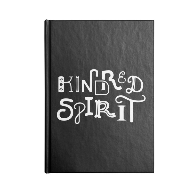 Kindred Spirit Accessories Blank Journal Notebook by BumbleBess