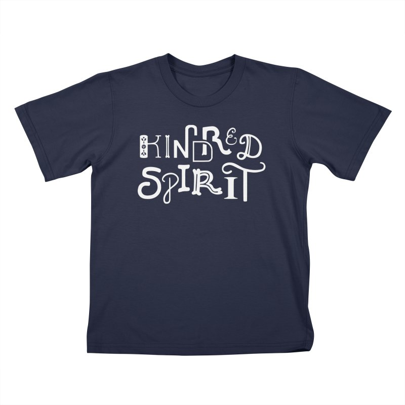 Kindred Spirit Kids T-Shirt by BumbleBess