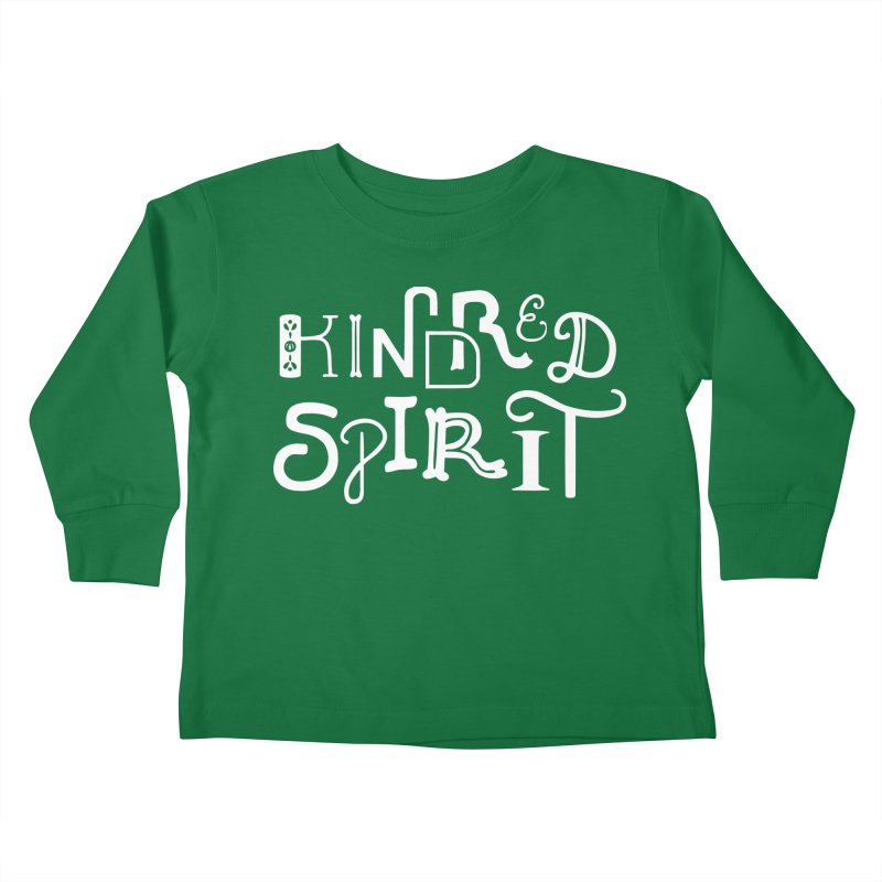 Kindred Spirit Kids Toddler Longsleeve T-Shirt by BumbleBess
