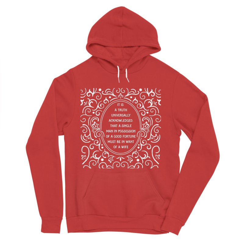 A Truth Universally Acknowledged Men's Pullover Hoody by BumbleBess