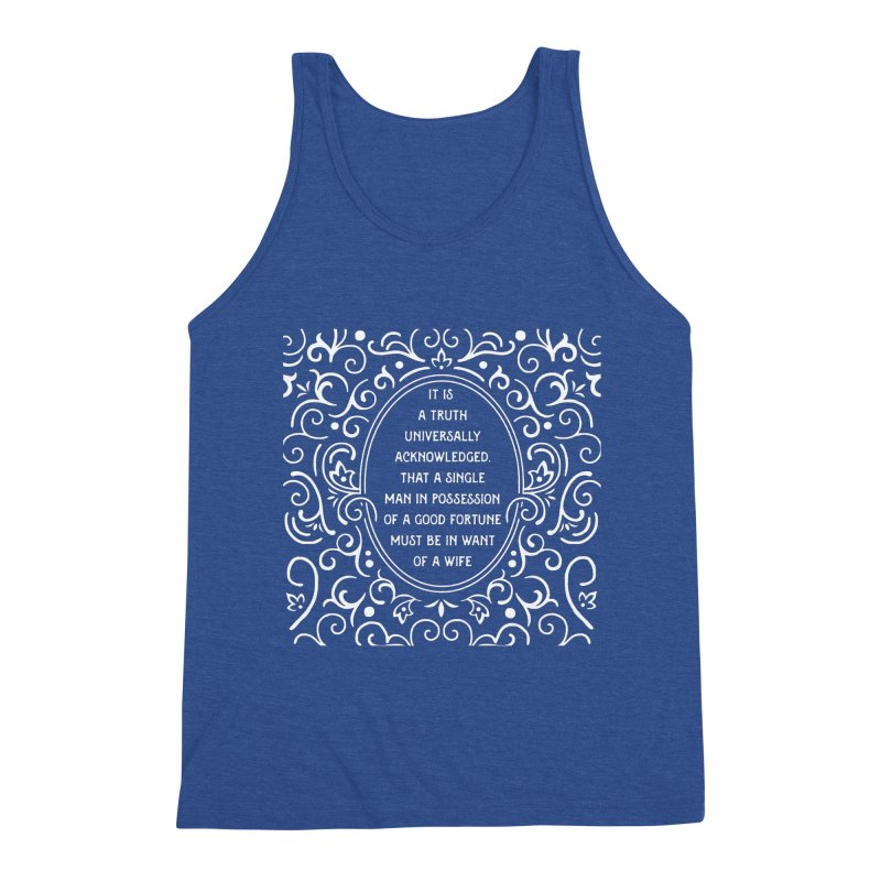 A Truth Universally Acknowledged Men's Tank by BumbleBess