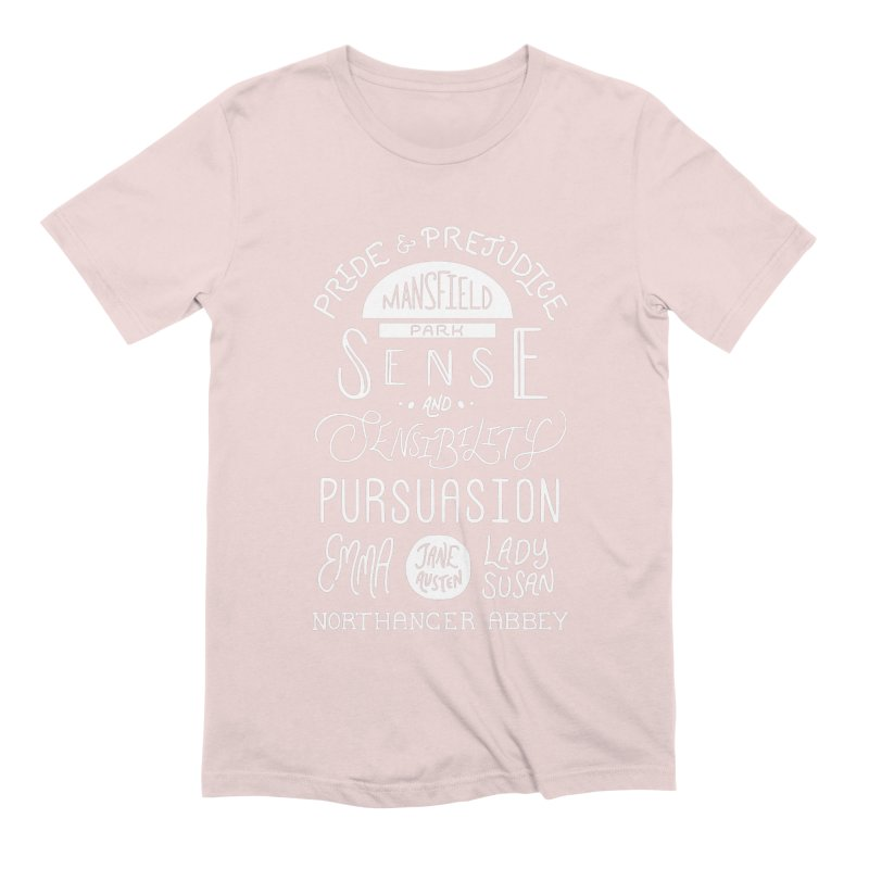 By a Lady Men's Extra Soft T-Shirt by BumbleBess