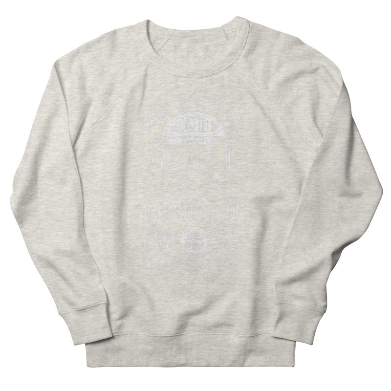 By a Lady Women's French Terry Sweatshirt by BumbleBess
