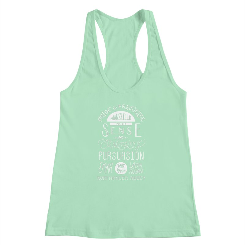 By a Lady Women's Racerback Tank by BumbleBess