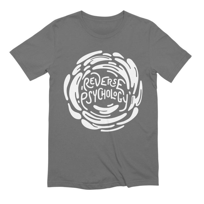 Reverse Psychology Men's T-Shirt by BumbleBess