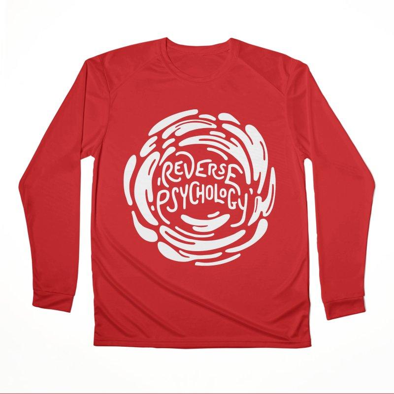 Reverse Psychology Men's Performance Longsleeve T-Shirt by BumbleBess