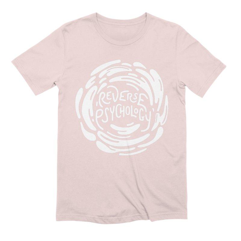 Reverse Psychology Men's Extra Soft T-Shirt by BumbleBess