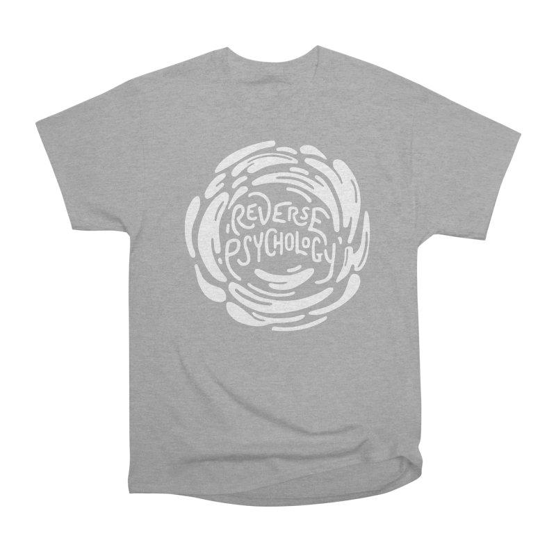 Reverse Psychology Men's Heavyweight T-Shirt by BumbleBess