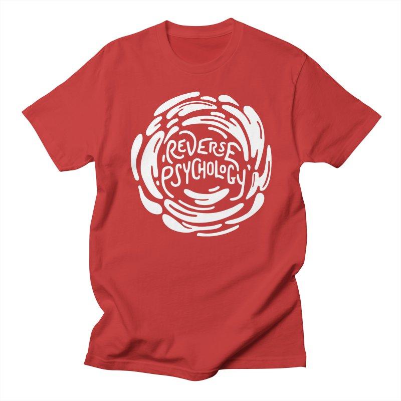 Reverse Psychology Men's Regular T-Shirt by BumbleBess