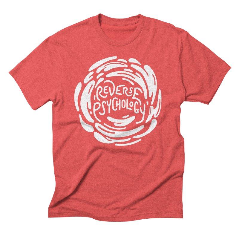Reverse Psychology Men's Triblend T-Shirt by BumbleBess