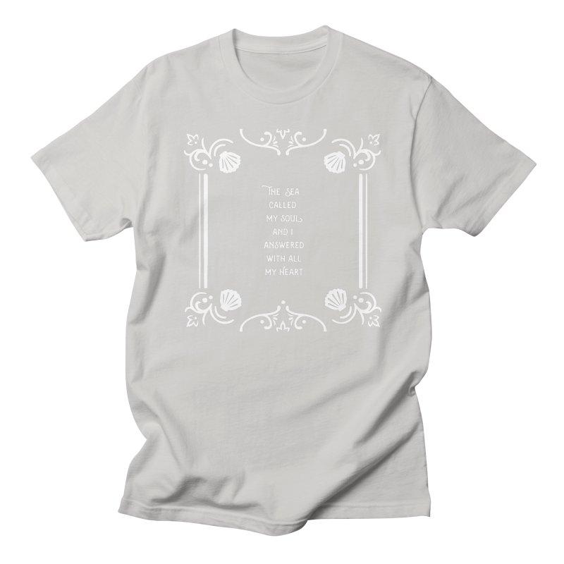 The Sea Called Women's Regular Unisex T-Shirt by BumbleBess