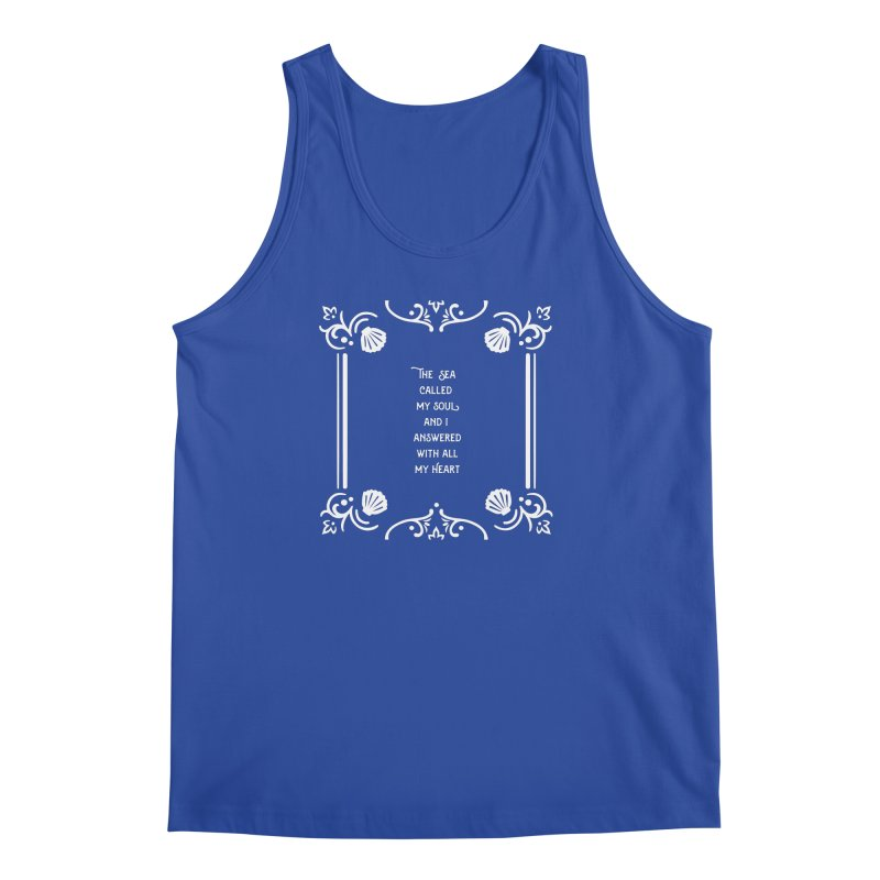 The Sea Called Men's Regular Tank by BumbleBess
