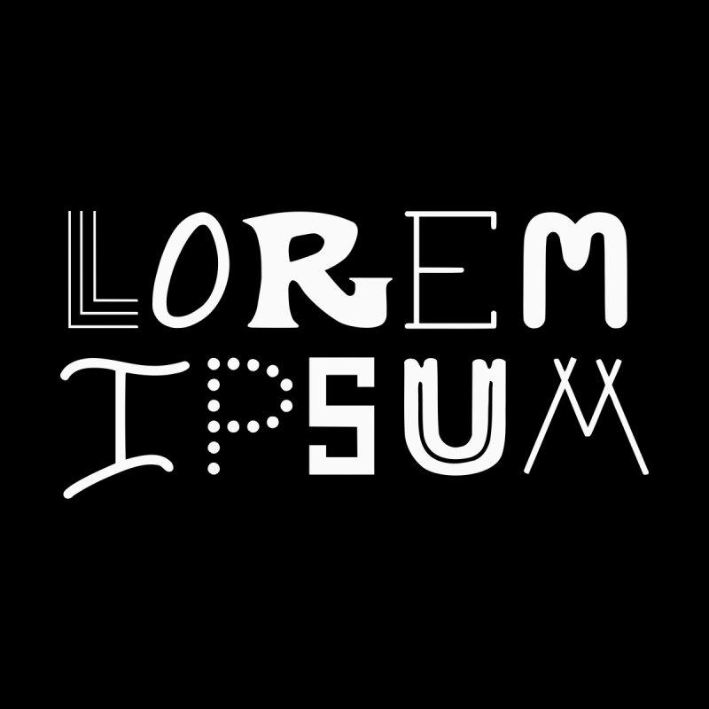 Lorem Ipsum Men's T-Shirt by BumbleBess