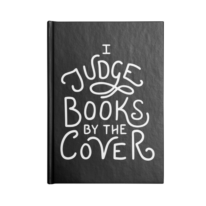I Judge Books Accessories Blank Journal Notebook by BumbleBess