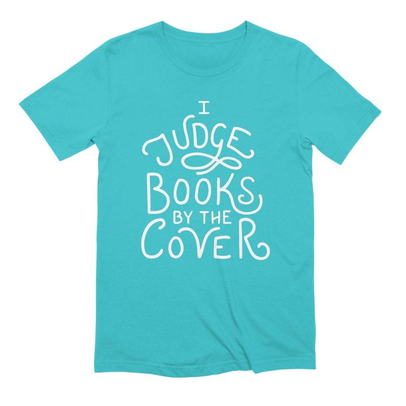 I Judge Books Men's Extra Soft T-Shirt by BumbleBess