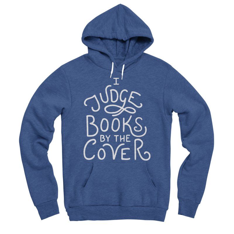 I Judge Books Women's Sponge Fleece Pullover Hoody by BumbleBess