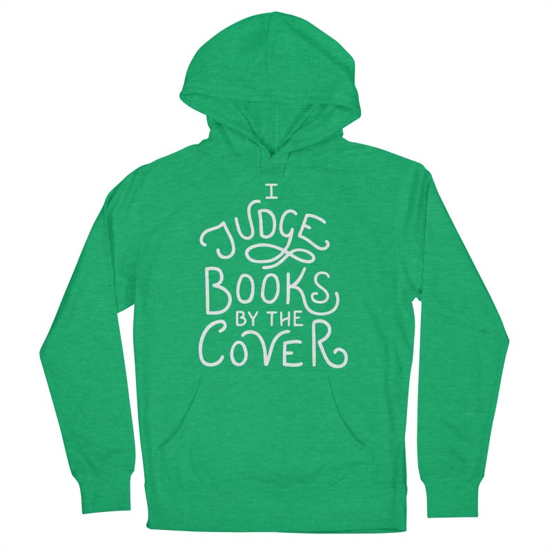 I Judge Books Men's French Terry Pullover Hoody by BumbleBess