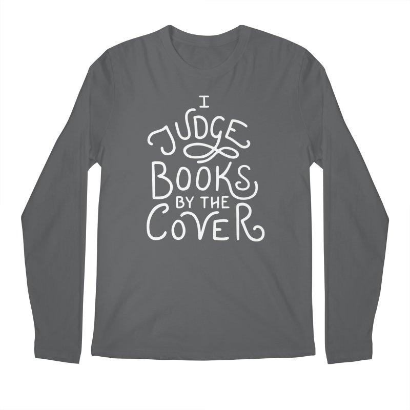 I Judge Books Men's Regular Longsleeve T-Shirt by BumbleBess